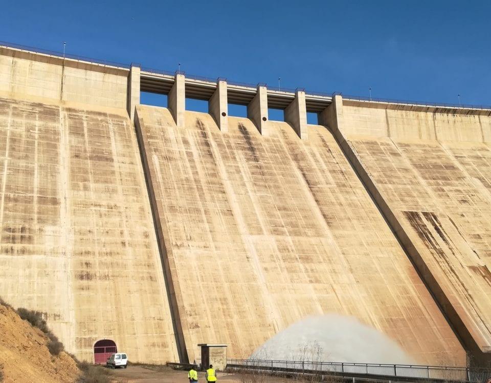 Proesza, adjudicataria para los servicios de control y auscultación de la presa de Montearagón