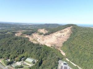 Topografía en construcción de parque fotovoltaico en Kurayoshi, Japón - PROESZA JAPAN